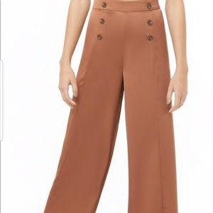 NEW Double Breasted Wide Leg Pants